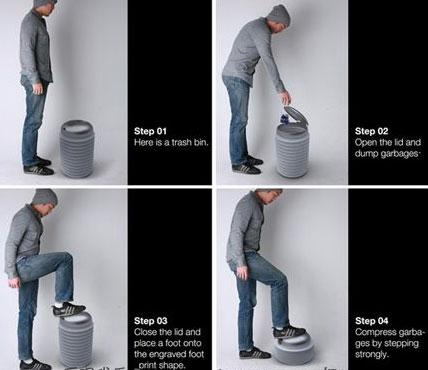 用来【发泄】的垃圾桶