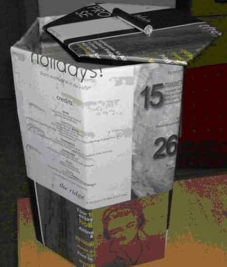 纸手工制作垃圾桶