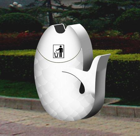 新概念垃圾桶设计【图】