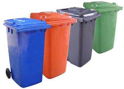 使用最多的分类垃圾桶【图】