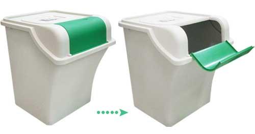大人,小孩从家中轻松养成良好的环保回收习惯,垃圾分类做得好,垃圾量图片