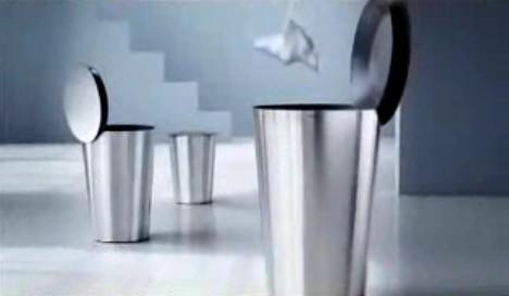 巧妙的垃圾桶设计【图】